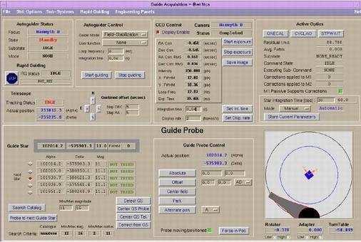 VLT Guiding System