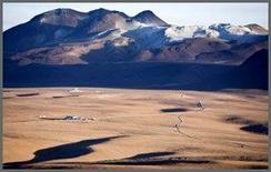 Sito cileno di ALMA a 5000m di quota