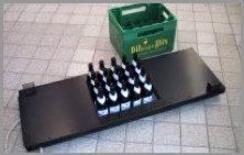 Lo shutter del mosaic CCD OmegaCAM può ospitare 20 bottiglie di vino