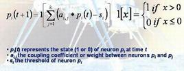 """Le equazioni di Caianiello . Fonte: Istituto di Cibernetica """"E:R: Caianiello"""", CNR"""