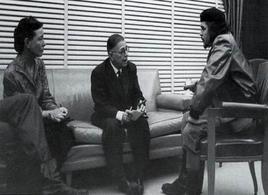 Simone de Beauvoir, Jean-Paul Sartre e Ernesto Che Guevara a La Habana, 1960 (da: Wikipedia )