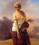 Francesco Hayez, Ruth, 1835