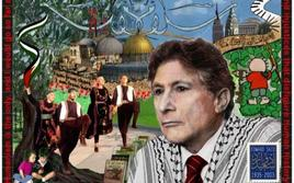 Mural celebrating Edward Said. Da: MuzzleWatch