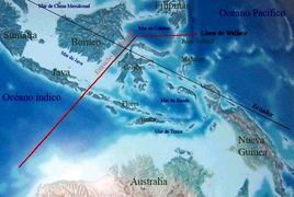 La Wallacea (Fonte: Wikipedia).