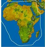 Corotipo Afrotropicale-Mediterraneo. Fonte  Wikipedia.