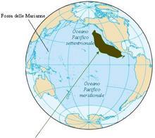 La barriera pacifica orientale è una barriera efficace per specie bentoniche e di acque poco profonde. Modificata da  Wikipedia.