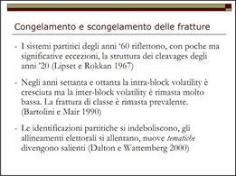 Congelamento e scongelamento delle fratture, da S. Vassallo, UniBo, aa 2010/2011
