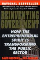 Accedi alla recensione del testo di Osborne e Gaebler, Reinventing government