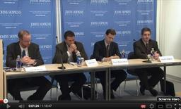 "Panel su ""The Media, Public Opinion and the American Voter"", John Hopkins University"