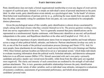 "Accedi alla voce ""Party Identification"" dall'Oxford Handbook of American Elections and Political Behavior"