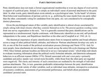 "Accedi alla voce ""Party Identification"" dall'Oxford Handbook of American Elections and Political Behavior"
