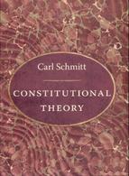 Accedi ala versione integrale di Constitutional Theory di Carl Schmitt