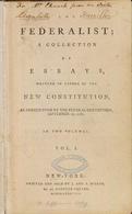Accedi alla versione integrale dei Federalist Papers di Hamilton, Madison e Jay