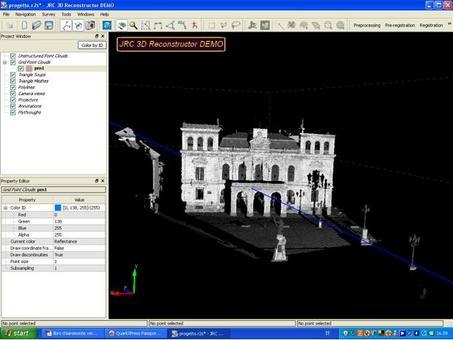 Le scansioni vengono importate all'interno del software di modellazione. SCANSIONE I