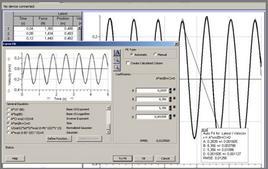 Es. della schermata del software LabPro©