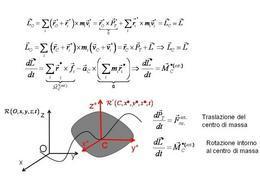 Moto roto-traslatorio e riferimento del centro di massa