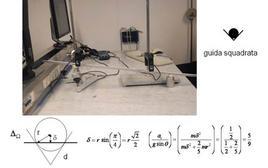 Apparato sperimentale ed accelerazione prevista
