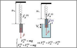 Idea del metodo della pesata idrostatica