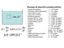 Valori caratteristici di densità