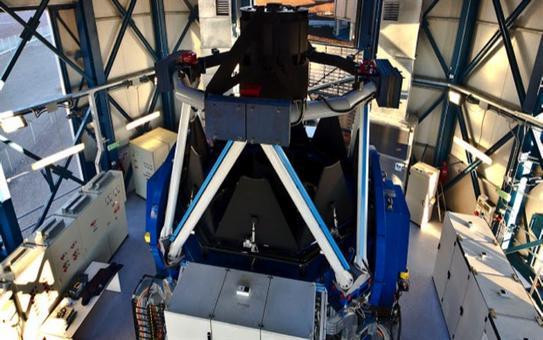 Il VLT Survey Telescope, il telescopio a grande campo sul Cerro Paranal in Cile. Fonte: ESO.