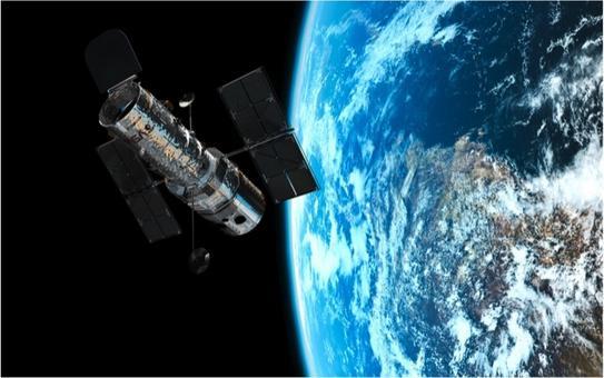 Il telescopio spaziale Hubble (HST). Fonte: NASA.