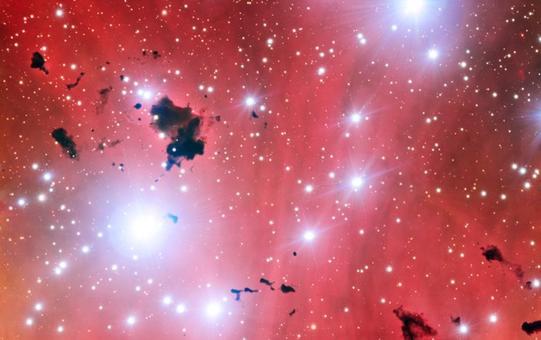 Formazione stellare in IC 2944, una Nebulosa della Via Lattea, fotografata dal Very Large Telescope. Fonte ESO.