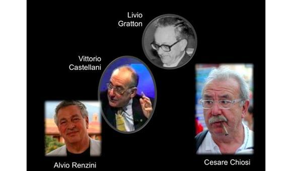 I maggiori protagonisti italiani nello studio dell'astrofisica stellare. Fonte: M. Capaccioli