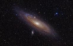 La galassia a spirale M31. Fonte: NASA.
