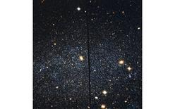 Leo A, una galassia irregolare nel Gruppo Locale. Fonte: HST/NASA.