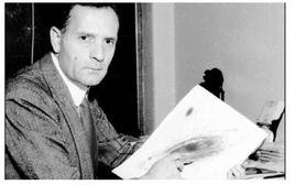 Edwin P. Hubble (1889-1953) in 1931.