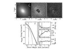 GALFIT decomposition of NGC 221 (M32). Credit: Peng et al., AJ, 124, 266, 2002.