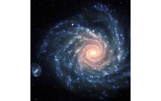 NGC 1232, an intermediate spiral galaxy. Credit: ESO.
