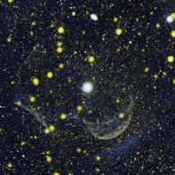 Z Camelopardalis, a recurrent nova. Credit: NASA/JPL-Caltech.