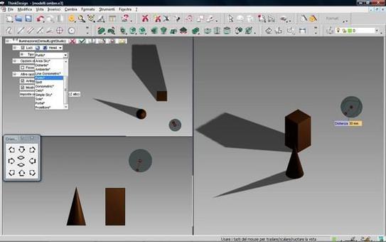 Fig. 5 – determinazione delle ombre nel modello digitale.
