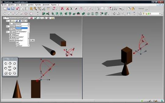 Fig. 6 – determinazione delle ombre nel modello digitale.