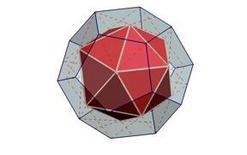 Fig. 9 – dodecaedro – icosaedro duale