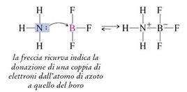 Reazione tra trifluoruro di boro e ammoniaca. Fonte: Seyhan Eğe, La Chimica Organica Essenziale, Idelson-Gnocchi, 2008