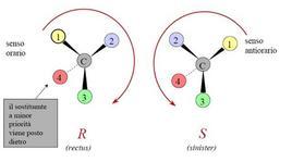 Regola del volante. Fonte: Seyhan Eğe, La Chimica Organica Essenziale, Idelson-Gnocchi, 2008