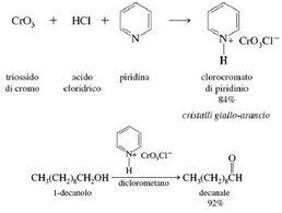 Ossidazione selettiva di un alcol primario. Fonte: Seyhan Eğe, La Chimica Organica Essenziale, Idelson-Gnocchi, 2008