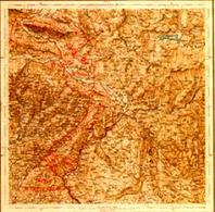 Carta Politica al 15 Gennaio 1915. Fonte: IGM, carta topografica d'Italia.