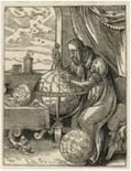 Cosmografo della seconda metà del Cinquecento. Fonte: Constelar