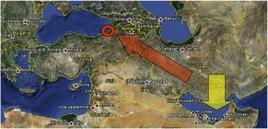 Fonte: Elaborazione di Nicolino Castiello da Google Earth