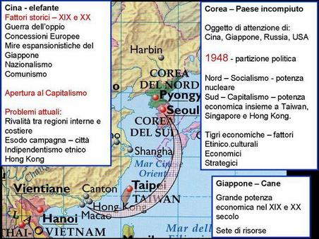 Fonte: elaborazione di Nicolino castiello da Nuovissimo Atlante del Touring Club Italiano, 2001