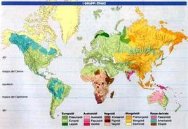 I Principali gruppi etnici nel mondo. Fonte: Catalepton