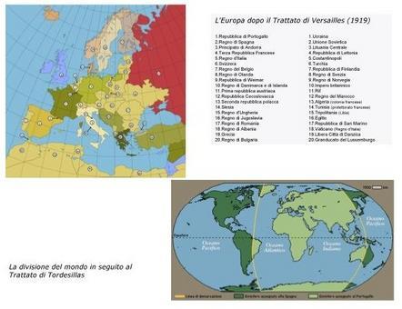 Conseguenze geopolitiche di due storici e importanti trattati