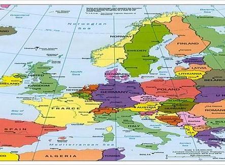Le principali correnti migratorie transoceaniche italiane. Fonte: Nuovissimo Atlante del Touring Club Italiano, 2001; carta  ridisegnata da Nicolino Castiello