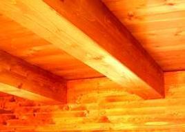 Intradosso di solaio in legno. Fonte Progetto Tetto.