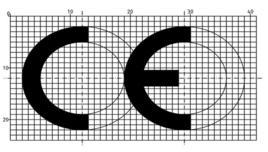 Marchio CE. Fonte Wikimedia Commons