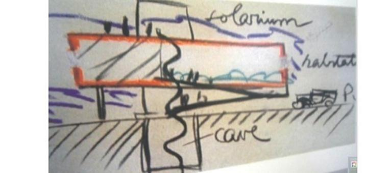 Pannello della mostra nell'edificio. Fonte: archivio arch. Maura Caturano (c) per gentile concessione