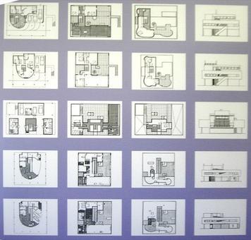 Nostra elaborazione da pannelli della mostra nell'edificio. Fonte: archivio arch. Maura Caturano (c) per gentile concessione